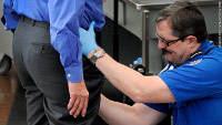 TSA agent gropes man